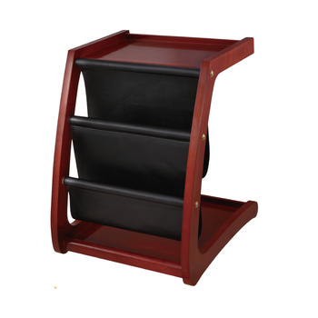 High Quality Practical  Hotel Wooden Newspaper Rack