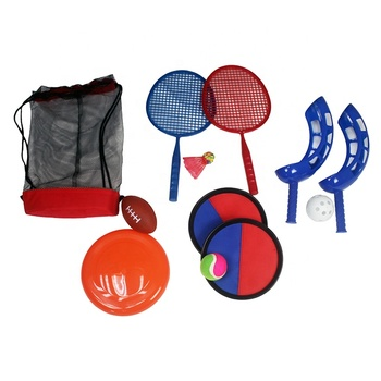 Factory direct sales of children's sports toys five in one sports game sets
