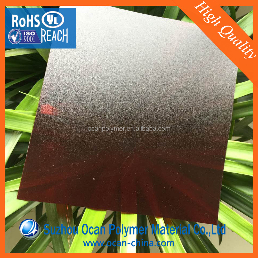 1 4 inch Waterproof Chocolate Brown Colored PVC Plastic Sheets