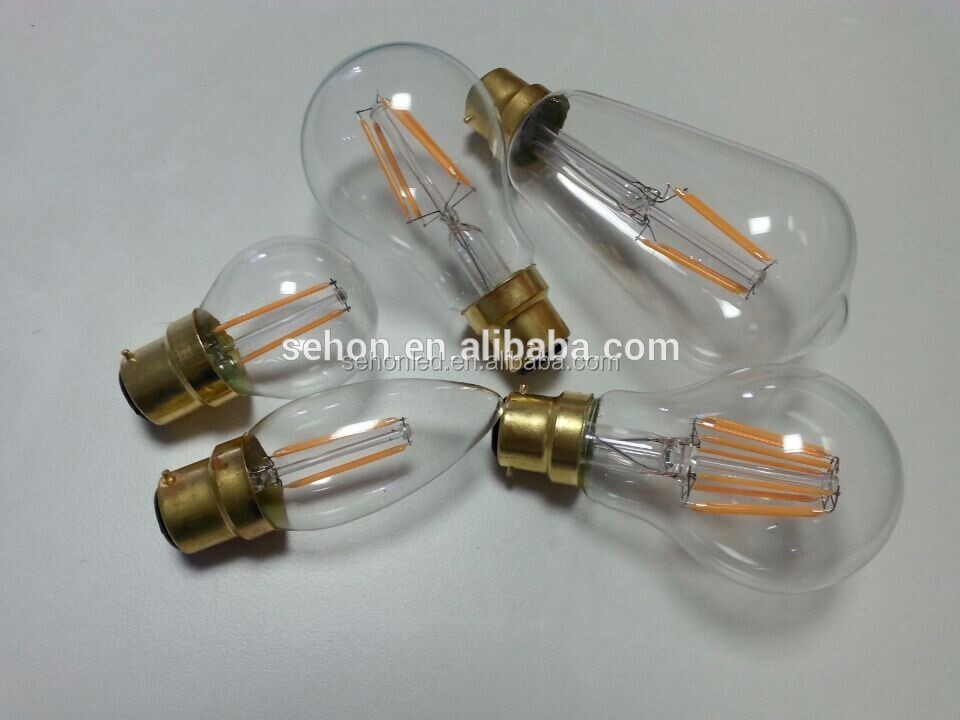 Vintage St64 Edison Bulb 6w 2700k 4000k 6000k Led Filament