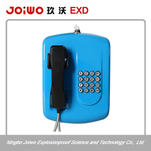 Cold rolled steel railway station subway taxi hotel blue auto dial courtesy phone