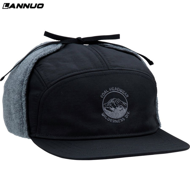 Winter 5 panel baseballcap, 5 panel earflap hut mütze, 5 panel hut earflap