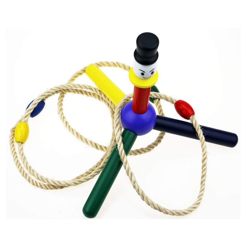 Agirlgle Ring Toss Game Set - Outdoor Kids Games Yard Games For Camping, Backyard and Garden and Outdoor Toys Keep Kids Active - Easy to Assemble and carry - Fun Family Games for Kids and Adults