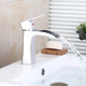 China Wholesale Silver Modern Bathroom Brass Sink faucet