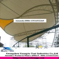 Made in guangzhou China customized steel structure shed