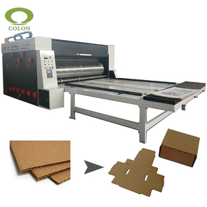 Machinery for making corrugated carton boxes making machine price