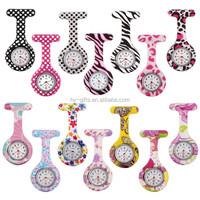fashion cheap nurse watch waterproof custom print nurse watch