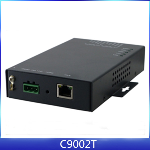 Industrial 2 Port RS232 to Ethernet Serial Device Server