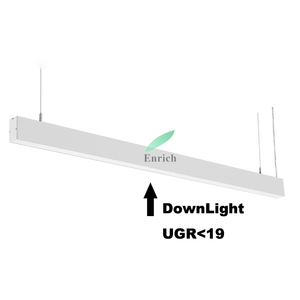 Chandelier Light Wall Mounted 0-10V Dimming LED Linear Light with up and Down Emitting for Hotel
