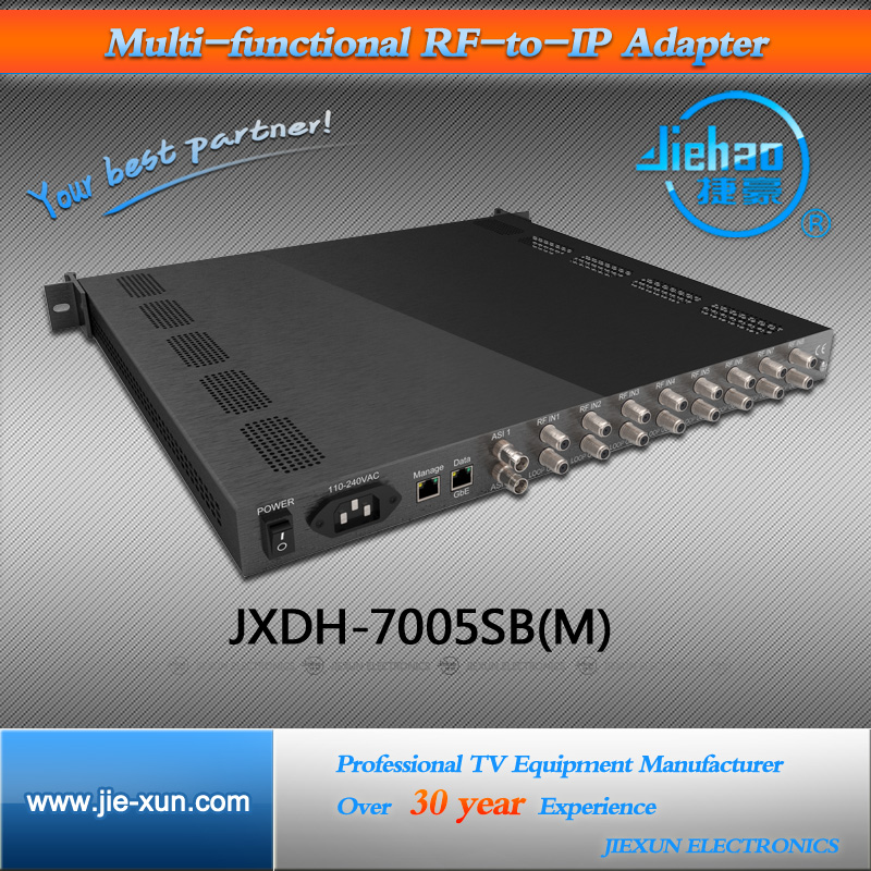 IPTV Streaming FTA 4K MPEG4 Satellite TV Receiver