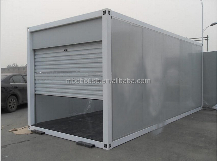 Portable Shelters Containers : Prefab car garage container carport storage in