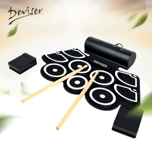 Professional Roll Digital Portable Electronic Drum Set