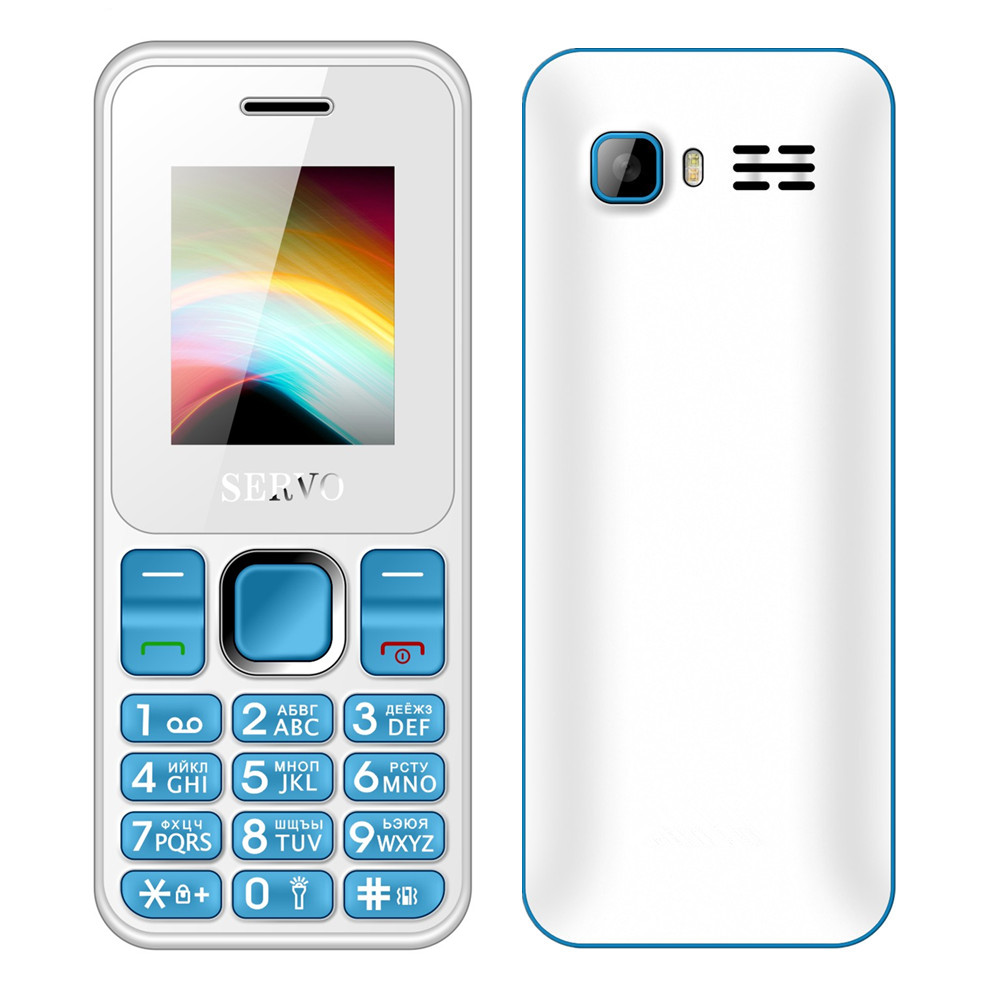 SERVO V8210 1.77inch dual sim cell phone low radiation keyboard mobile phones