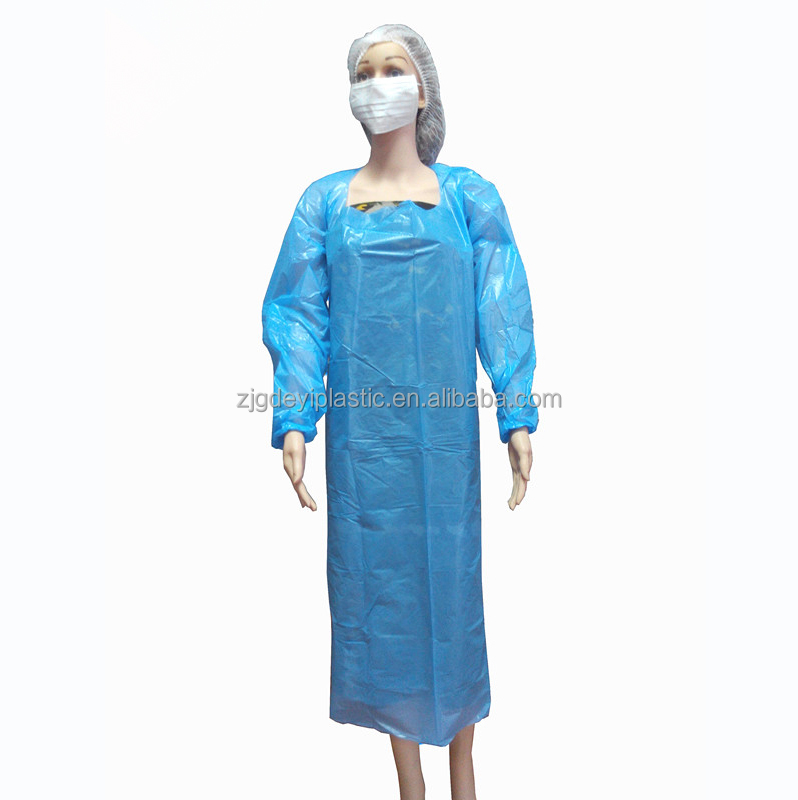 hospital use disposable dark blue Surgical Gown