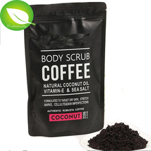 Arabica koffie huid whitening <span class=keywords><strong>scrub</strong></span> body <span class=keywords><strong>scrub</strong></span> exfoliërende peeling spa suiker vrouwen private label body <span class=keywords><strong>scrub</strong></span>