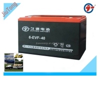 12V40AH Electric tricycle battery/EVF battery for golf car