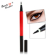 Professional Triangle Eyebrow pencil+ Eyeliner Pen, Private Label Long Lasting Eye Makeup Two Head Eyebrow Pencil
