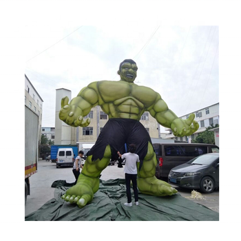 Customized Size Advertising Inflatable Cartoon Super Hero /inflatable muscle man /advertising huge hulk man