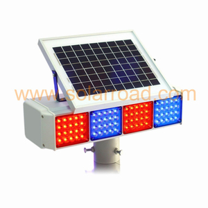 SOLARROAD RS-735-01 High Brightness Roadside Parking Warning Sign Lighting Solar Traffic Security Flash Warn Light