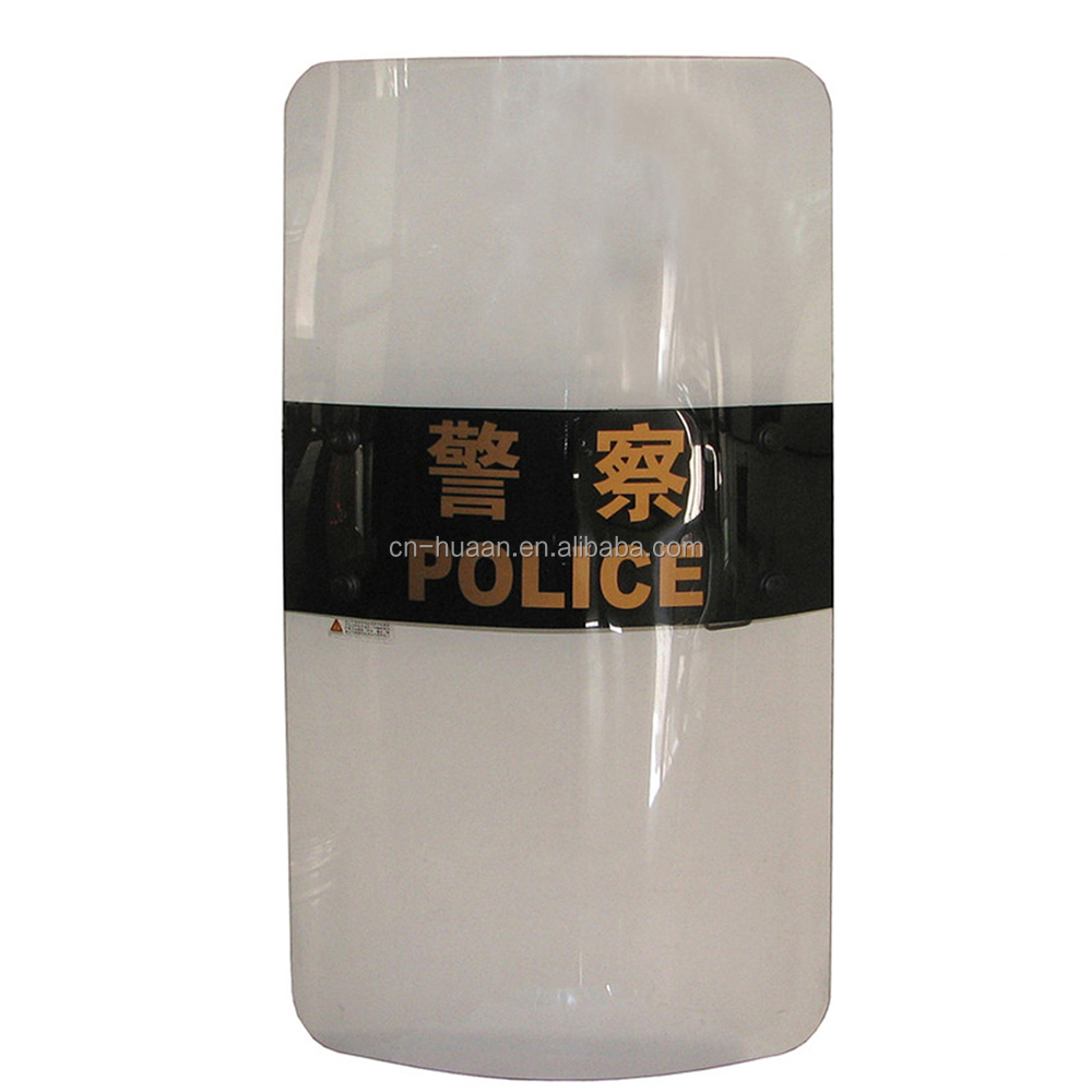 3.5mm Anti Riot Protective Shield/Transparent Polycarbonate Riot police Shield