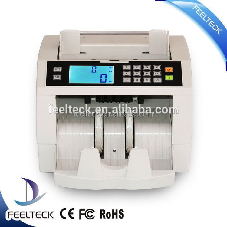hot selling magner currency counter,money counting machine discriminator