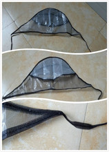 Good quality Plastic rain cap/rain bonnet/rain hat for promotion