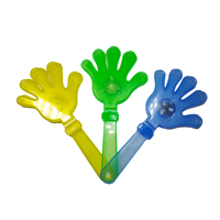 Colorful Plastic Led Flashing Fan Hand Clapper for Party Events