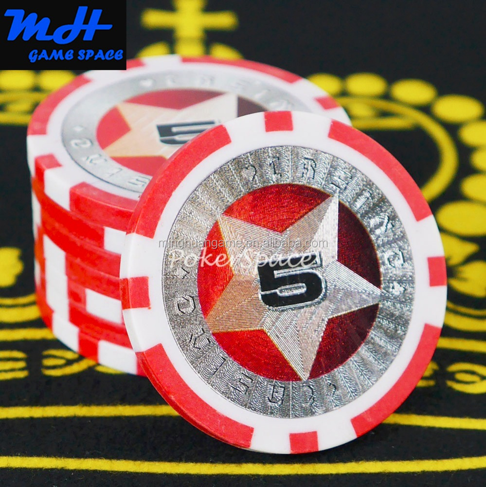11.5g Twee Tone PS Sticker Poker Chips/Casino Poker Chip