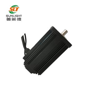New design high torque 12v 24v 800rpm brushless dc motor with custom shaft