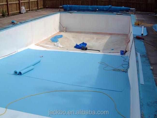 0 6 dicke vinyl poolfolie niedrigen preis schwimmbad for Poolfolie montieren