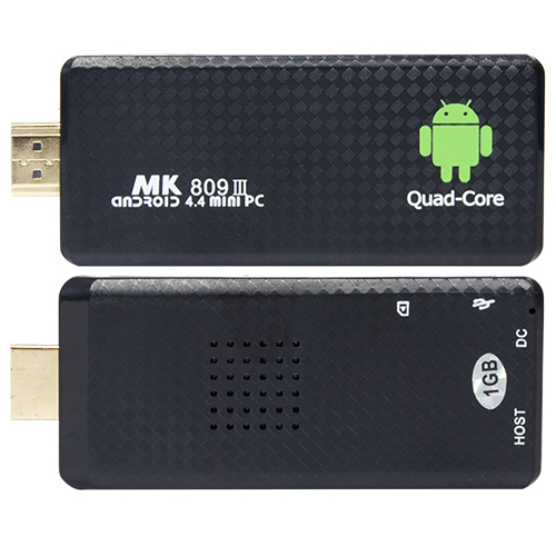 Android TV stick MK809 III RK3128 Quad Core 2GB RAM/16GB ROM Bluetooth Android 5.1 Mini PC