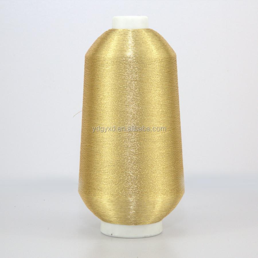 Pure Gold Metallic Yarn Embroidery Thread Buy Pure Gold Metallic
