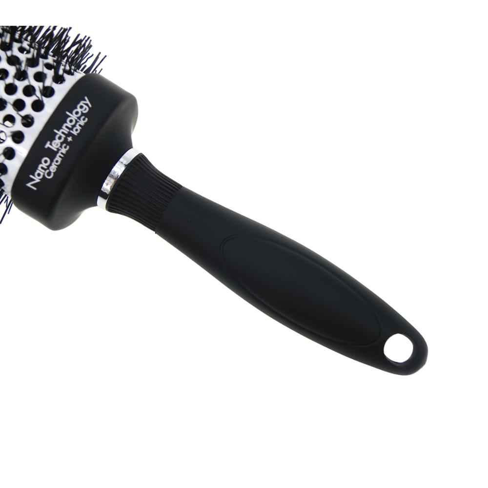 professional salon use ceramic square hair color brush