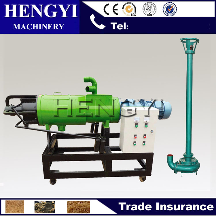 cow farm dung solid liquid separator, kitchen rubbish dewatering machine