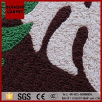 Polyester Small Carpet Rectangle Mat For Bedroom