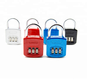 Safety Luggage Password 4 Digits Number Code Combinations Padlock For Travel Home