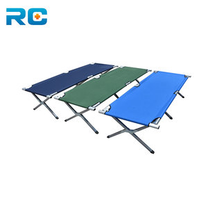 Factory Price portable camp folding bed for single