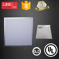 "ZJESL 24x24"" Dimmable LED Panel Lights 40W - 4000LM - Natural White (4000-4500K) - Ultraslim Light Panel (with LED Driver)"