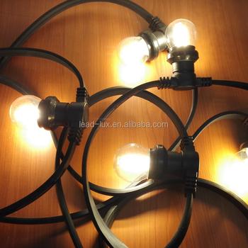 Hot To Australia 240v 50m 50 Sockets Outdoor Festoon Lighting String E27 Light Belt Blet Product On Alibaba