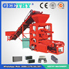 plastic pallet cement brick machine cost QTJ4-26 simple brick making machine from canada