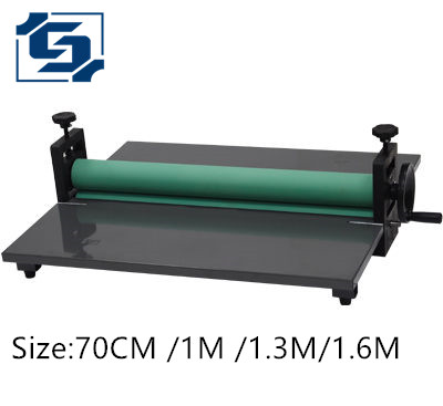 tsj32 the manual laminator machine Photo album 70cm cold laminating machine mounted film laminator