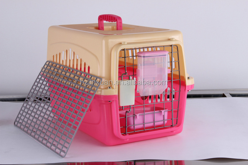 Plastic Pet Carrier Dog Crate Pet Cage for Dog Traveling
