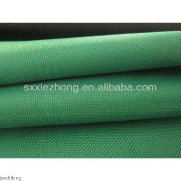 420D waterproof green woven nylon fabric for tent&backpack.