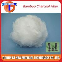 raw bamboo fiber composite bamboo charcoal fiber