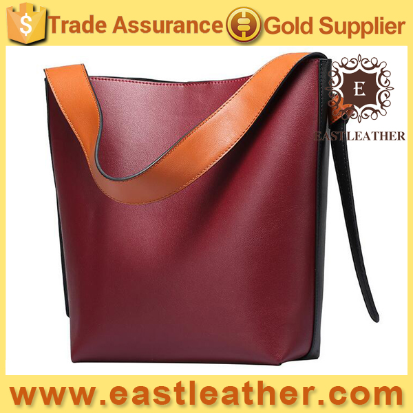 GL854 wholesale uk top selling famous design bucket genuine leather handbags