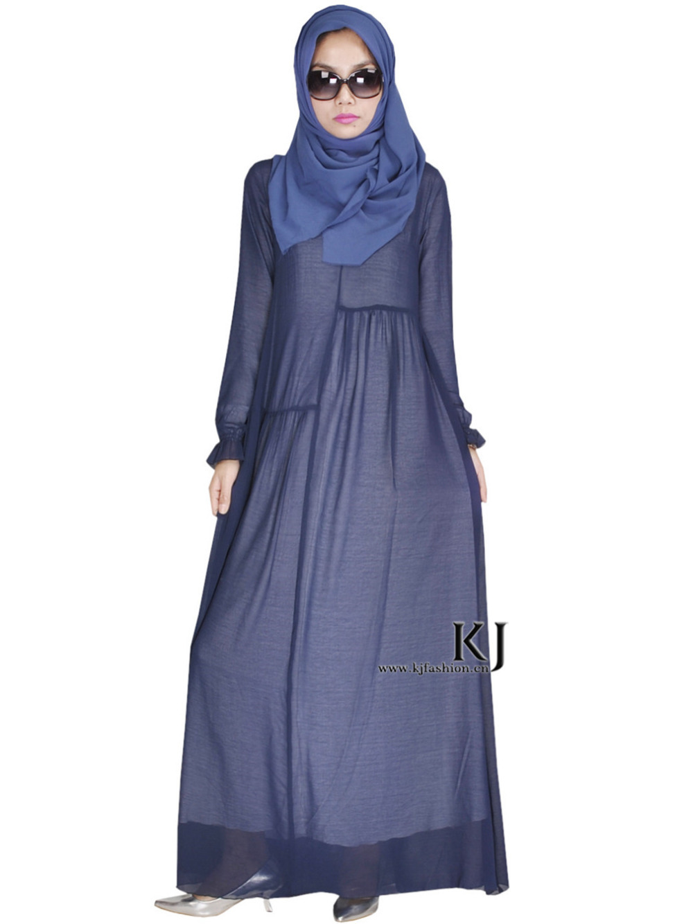 Get Quotations · Latest Design Muslim Dress Stretchable Rayon Silk Abaya  Traditional Islamic Clothing Women Maxi Long Jilbabs Abaya 08f91ee79