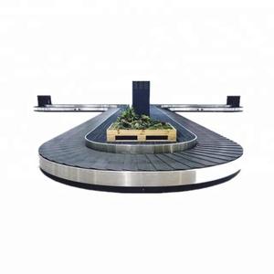 baggage conveyor for airport airport baggage arrival belt carousel
