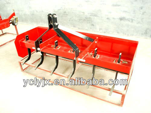 SBX-4 series box 3point hooked tractor land scraper