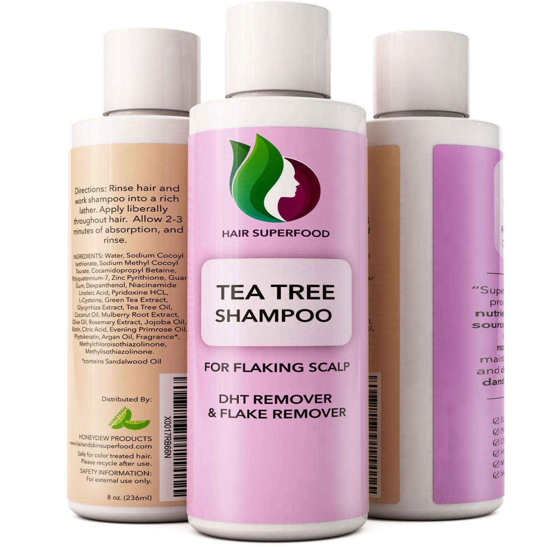 Buy Premium Superfood Natural Anti Dandruff Shampoo With Biotin