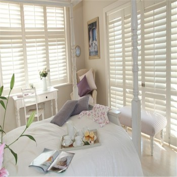 Double layer shading insulation shutters